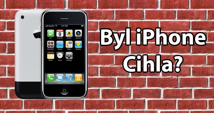 První iPhone byl představen před více než 12 lety. Z dnešního pohledu jde o primitivní hardware.