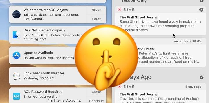 Návod: Jak na Macu snadno aktivovat a používat režim Nerušit