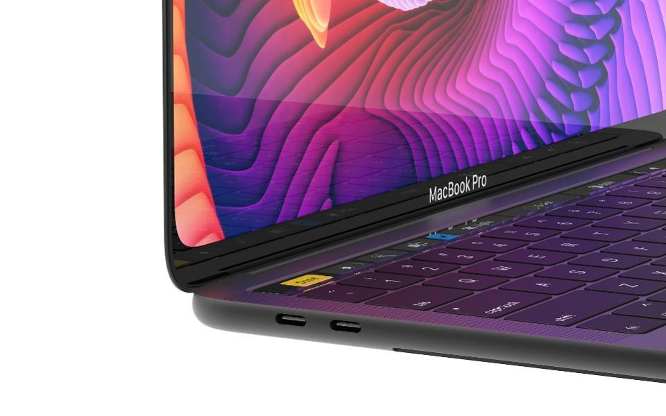 MacBook Pro s úzkými rámečky? Dočkáme se přepracovaného vzhledu?