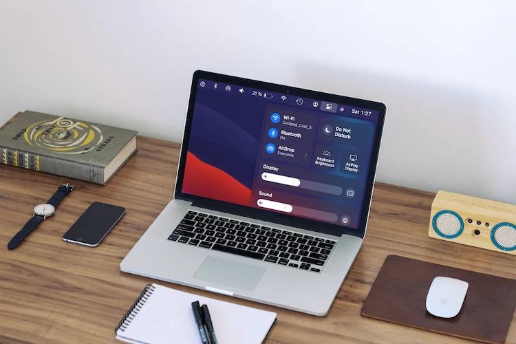 macOS Big Sur: Jak zobrazit procenta baterie na počítačích Mac?