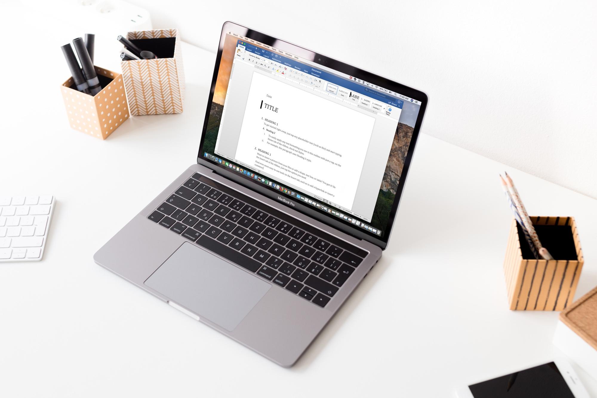 Bezplatné alternativy k Microsoft Office na Macu. Existují?