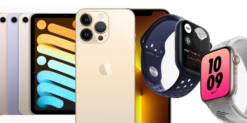 iPhone 13. iPad mini 2021 a další novinky od Applu
