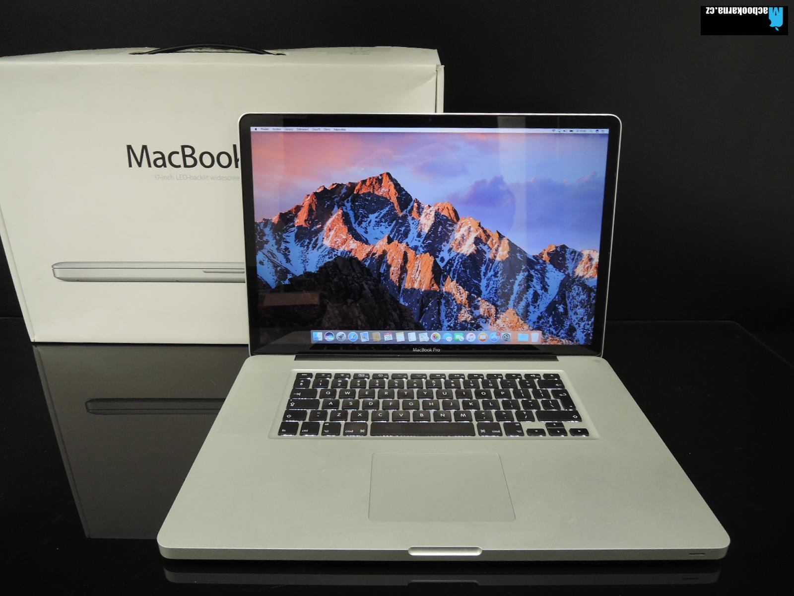 "MacBook PRO 17""/C2D 2.8GHz/8GB RAM/240GB SSD"