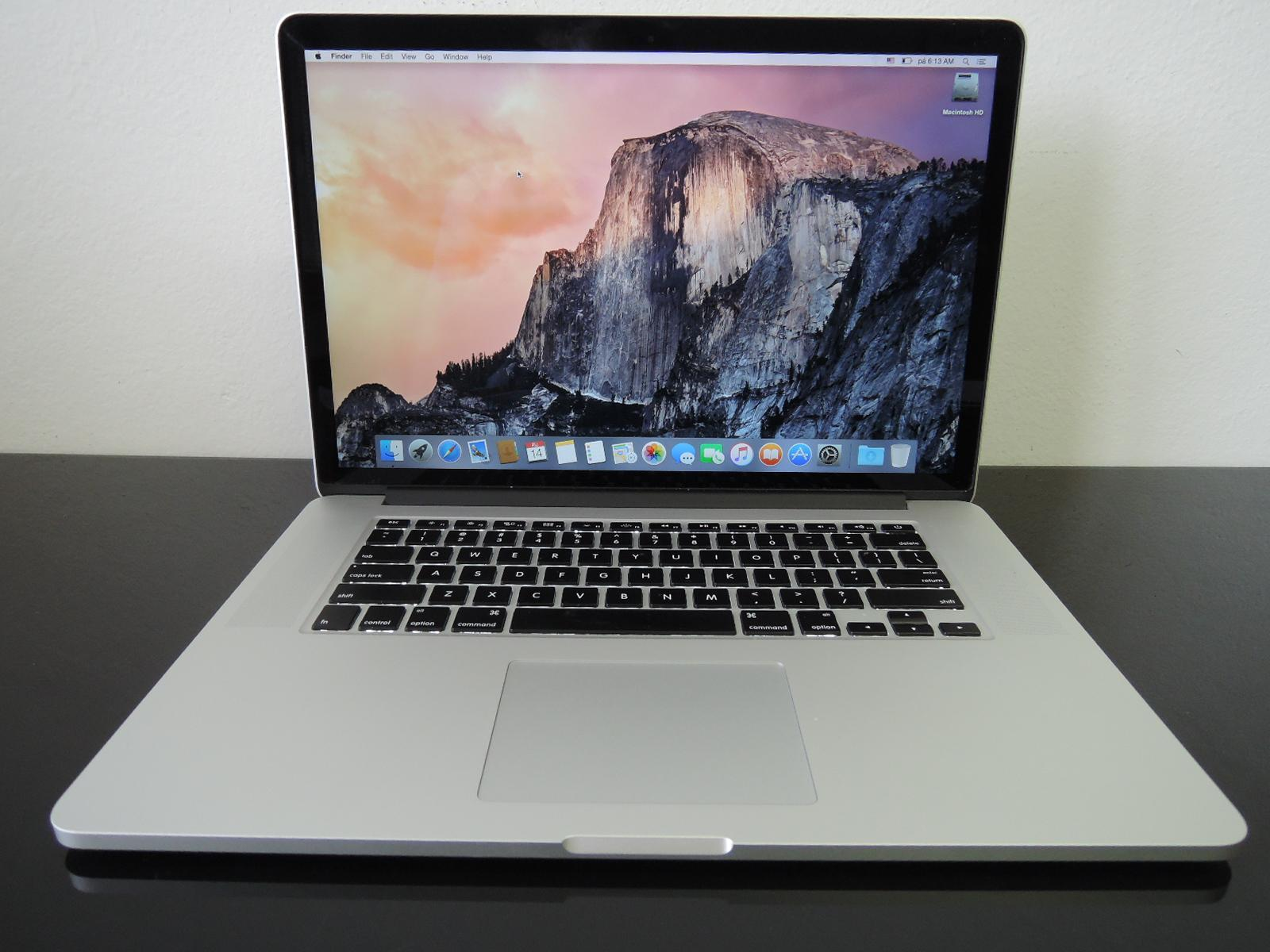 "MacBook PRO RETINA 15.4"" /i7 2.3 GHz/8GB RAM5126GB SSD"