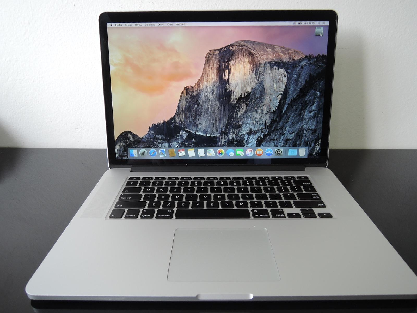 "MacBook PRO RETINA 15.4"" /i7 2.3 GHz/8GB RAM/256GB SSD"