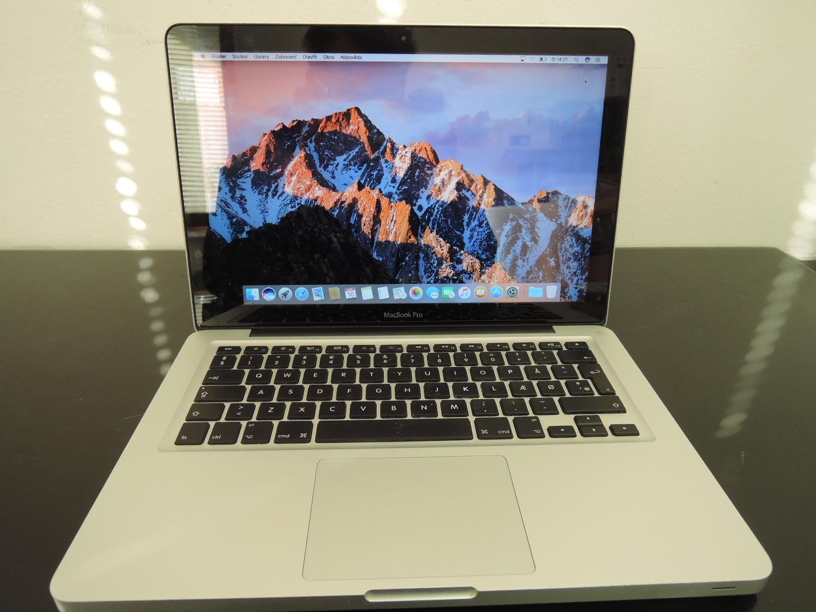 "MacBook PRO 13.3""/i5 2.5 GHz/16GB RAM/128GB SSD + 500GB HDD"