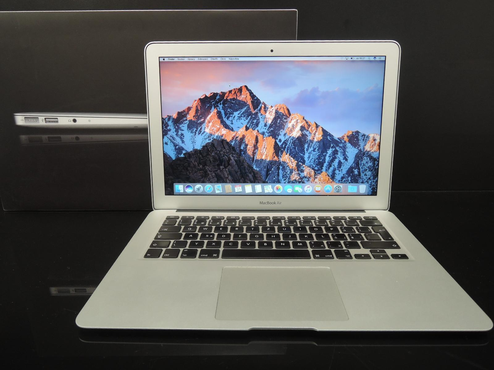 "MacBook AIR 13.3""/i5 1.7GHz/4GB RAM/256GB SSD"
