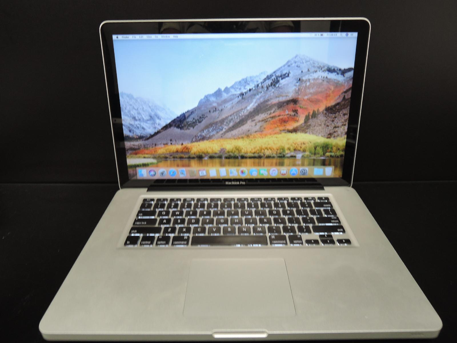 "MacBook PRO 15.4"" /i7 2 GHz/4GB RAM/500GB HDD"