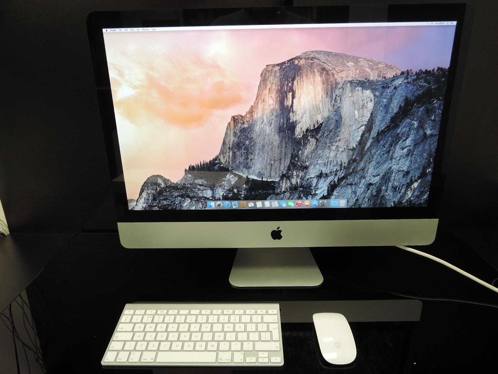 "APPLE iMAC 27""/3.06GHz/8GB RAM/1TB HDD"