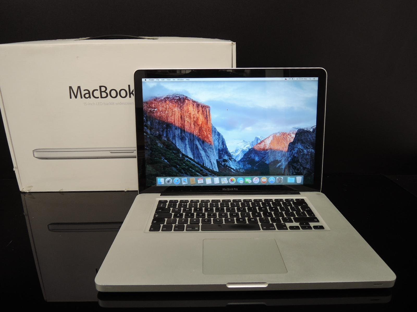 "MacBook PRO 15.4""/C2D 2.93 GHz/4GB RAM/500GB HDD"