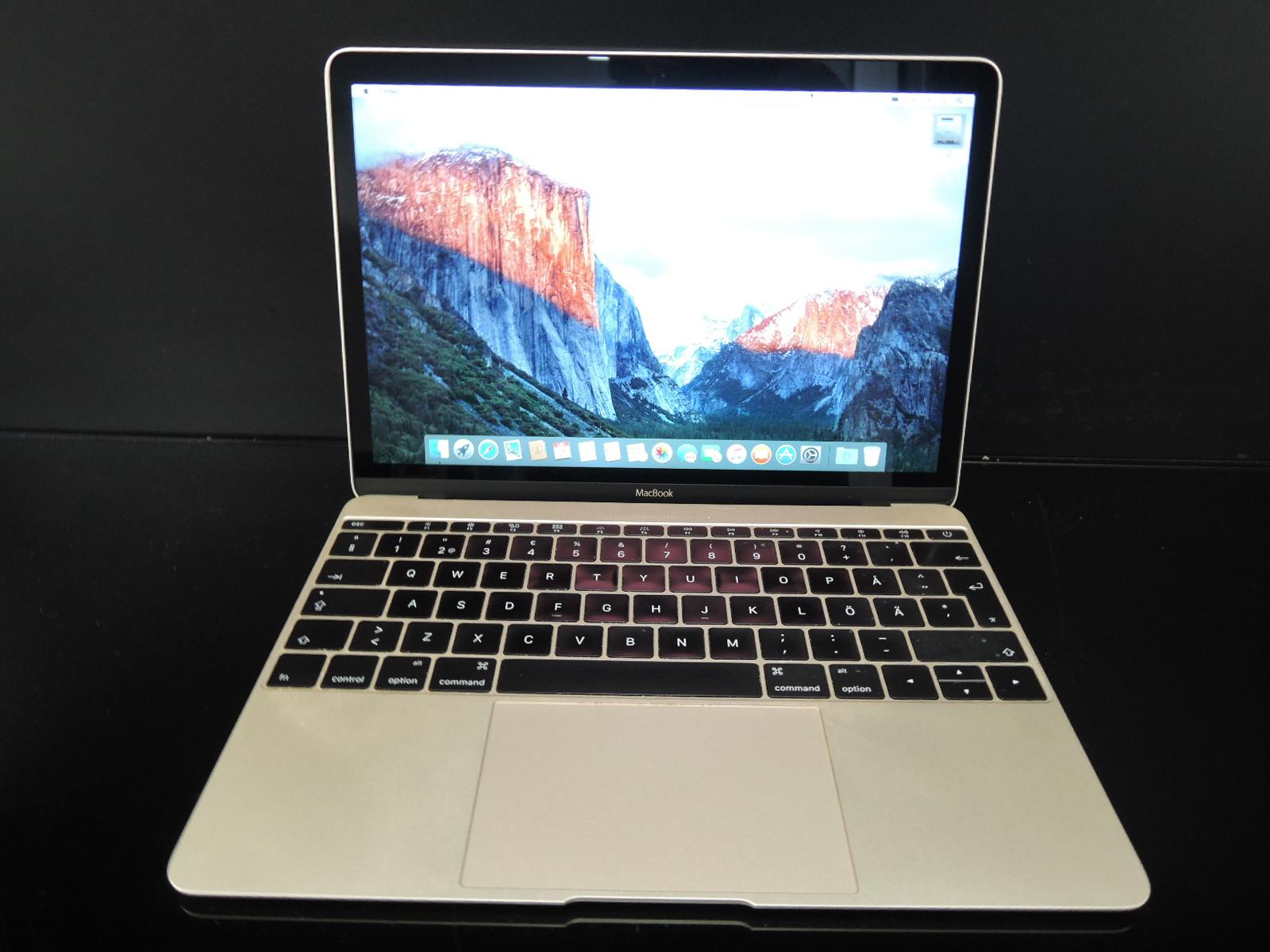 "MacBook RETINA 12""GOLD/1.2 GHz/8GB RAM/512GB SSD"