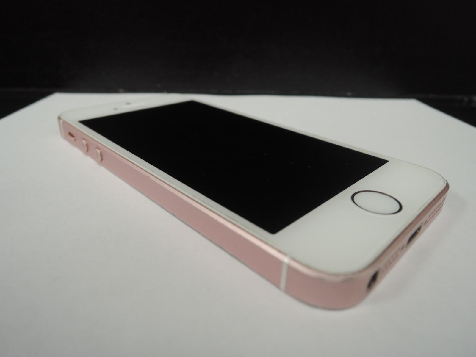 on sale 9884c 075d6 Apple iPhone SE 64GB Rose Gold