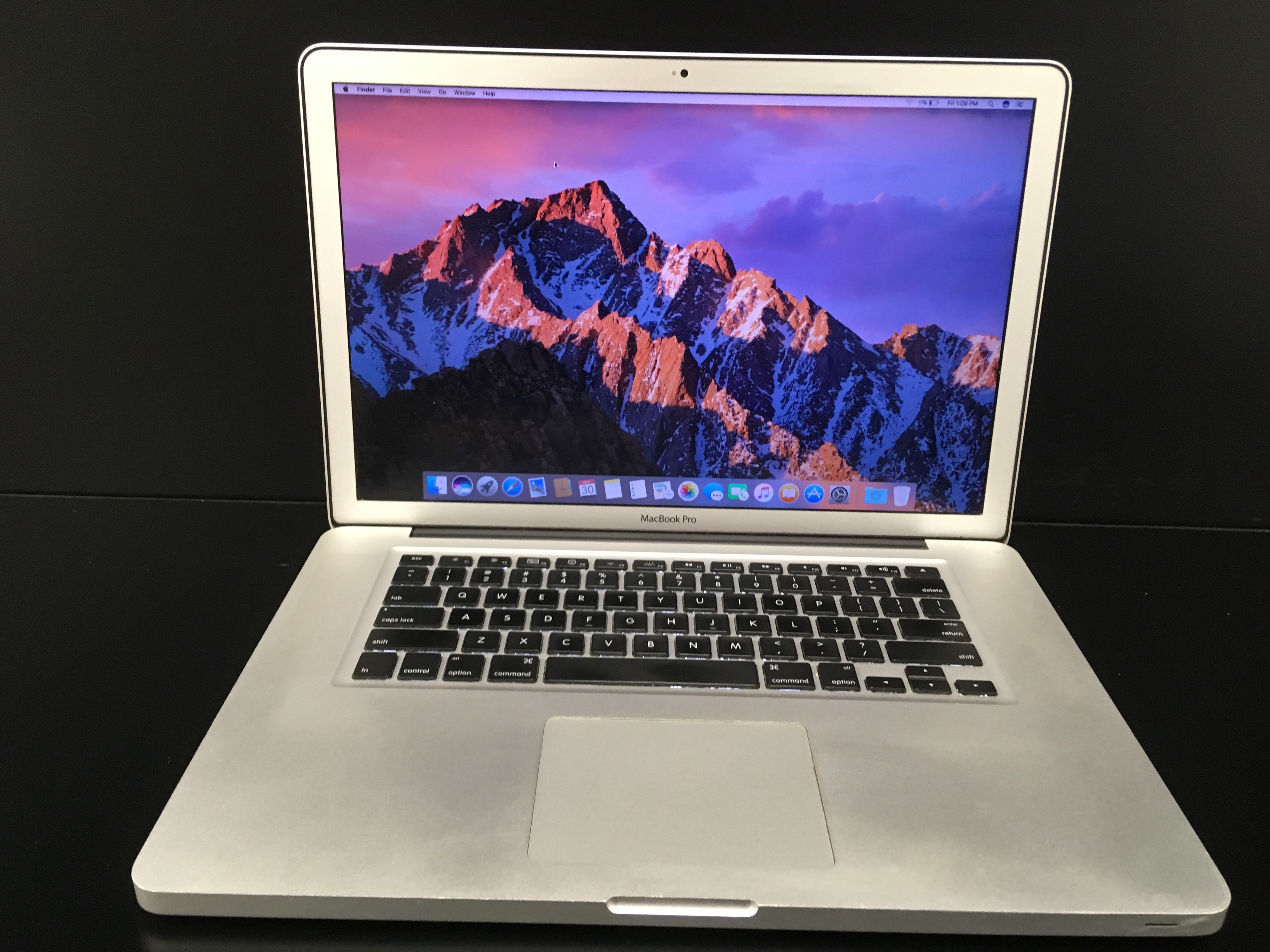 "MacBook Pro/15.4""/i7 2.66 Ghz/8GB RAM/500GB HDD"