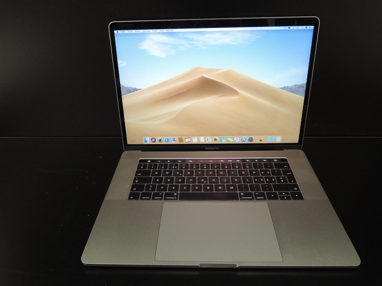 "MacBook PRO RETINA 15.4"" 2017/i7 2.9 GHz/16GB RAM/1TB SSD - Grafika"