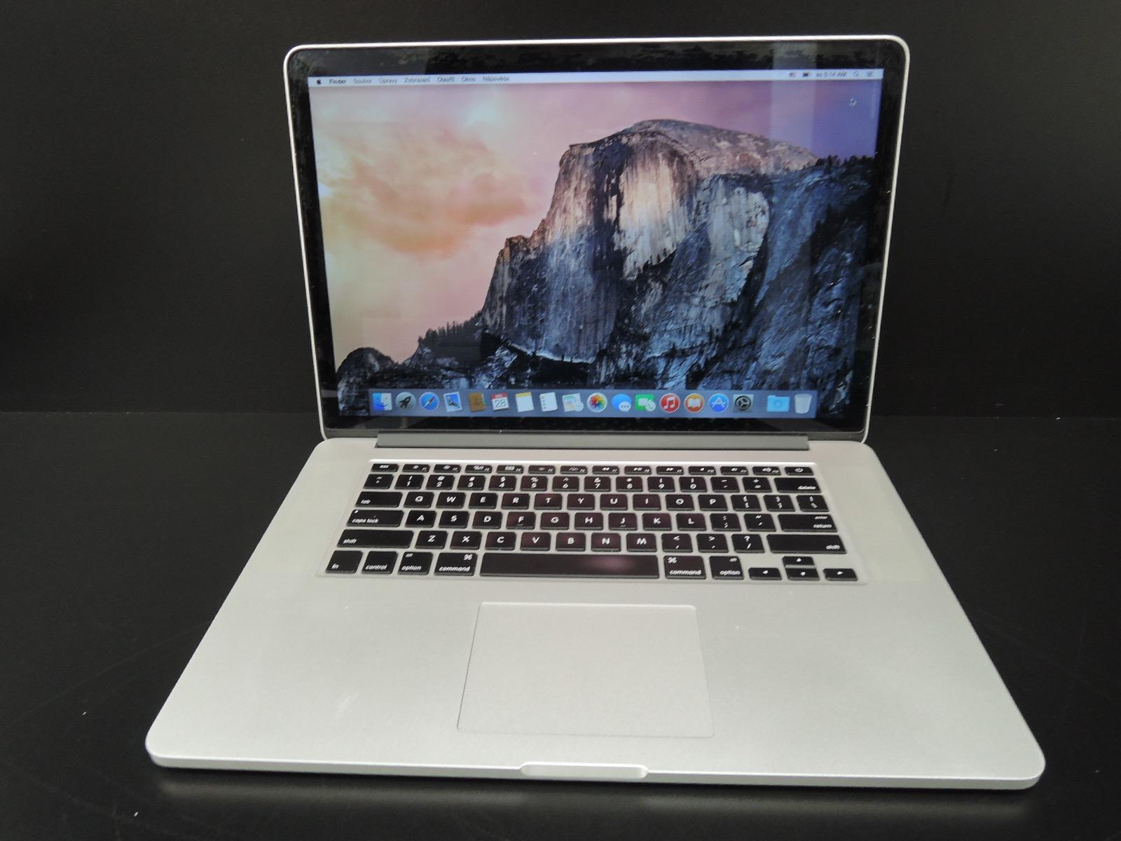 "MacBook PRO RETINA 15.4"" /i7 2.6 GHz CTO/16GB RAM/512GB SSD"