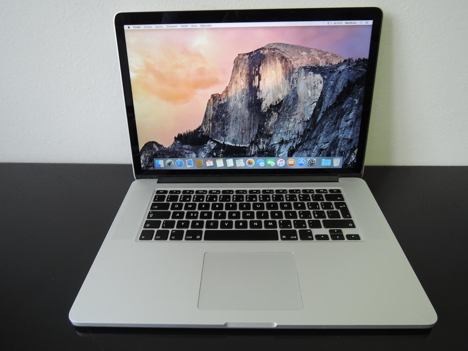 "MacBook PRO RETINA 15.4"" /i7 2.6 GHz/8GB RAM/256GB SSD"