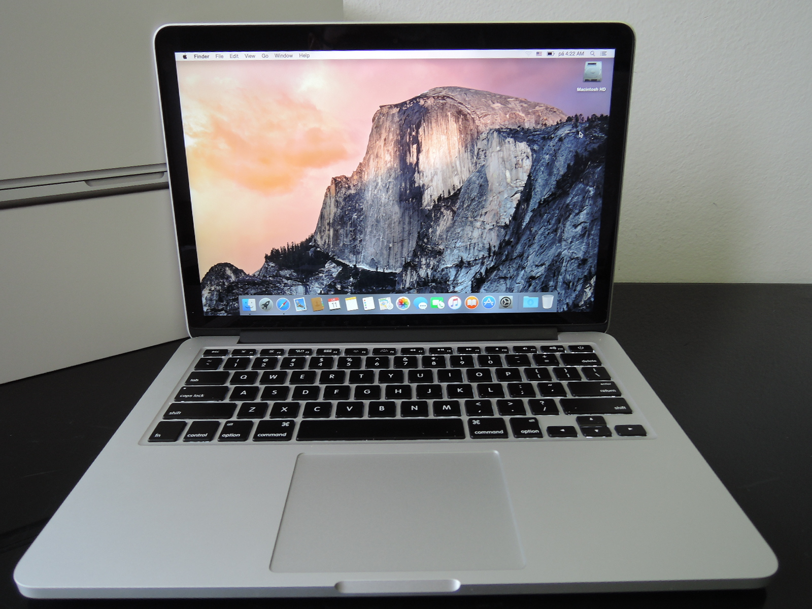 "MacBook PRO RETINA 13.3"" CTO/i5 2.8GHz/8GB RAM/512GB SSD"
