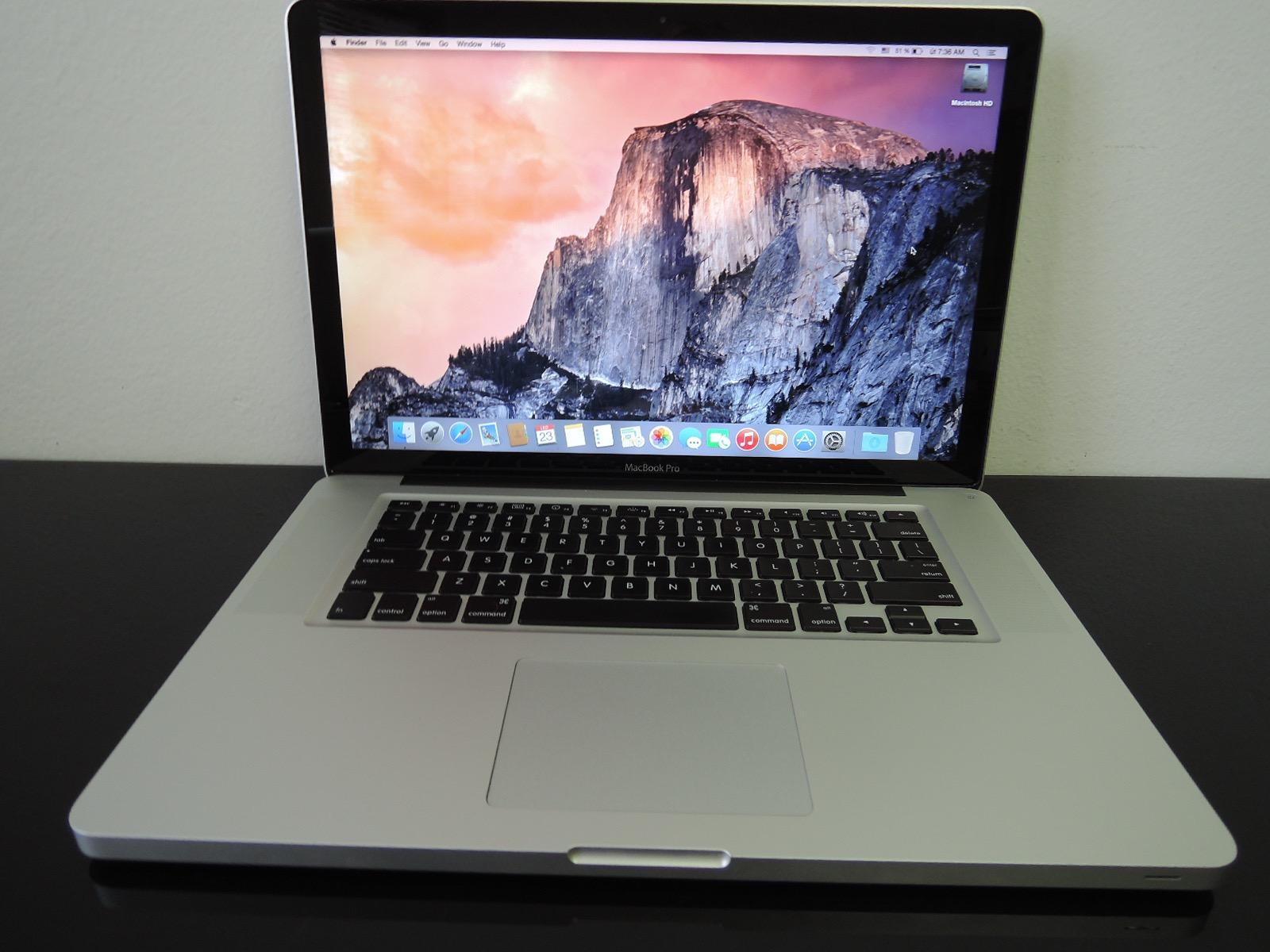 "MacBook PRO 15.4"" /i5 2.4 GHz/4GB RAM/320GB HDD"