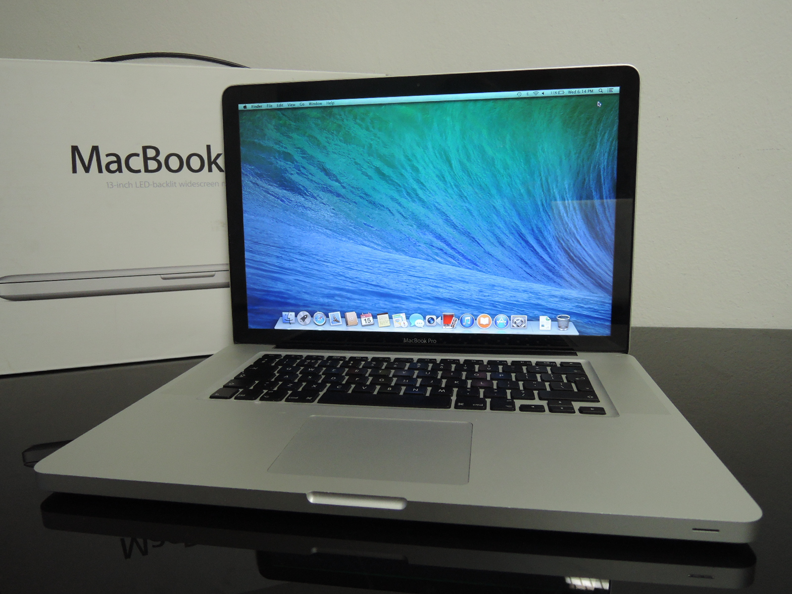 "MacBook PRO 15.4"" CTO/C2D 2.8 GHz/4GB RAM/320GB HDD"