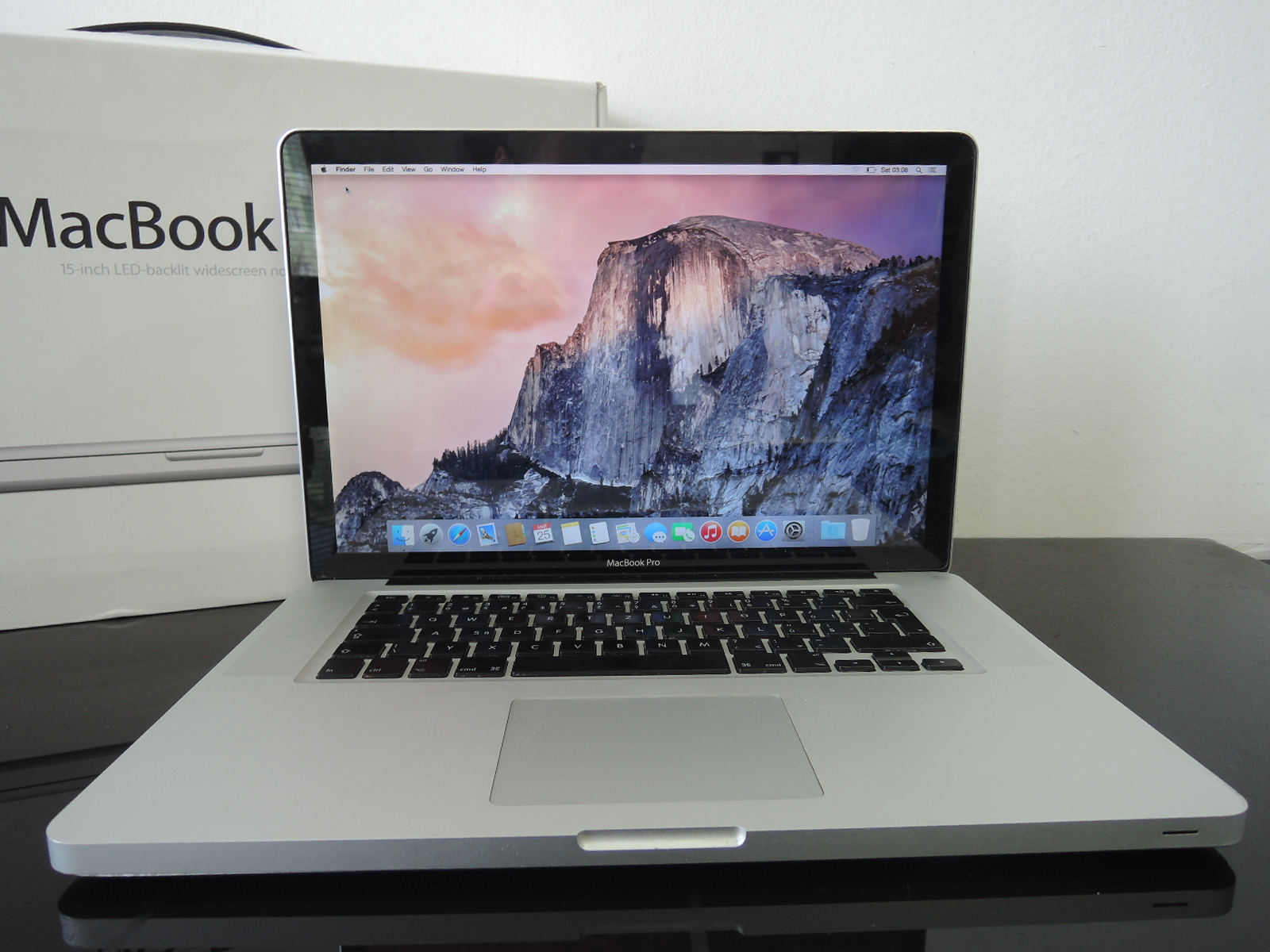 "MacBook Pro/15.4""/i7 2.66 Ghz/4GB RAM/500GB HDD"