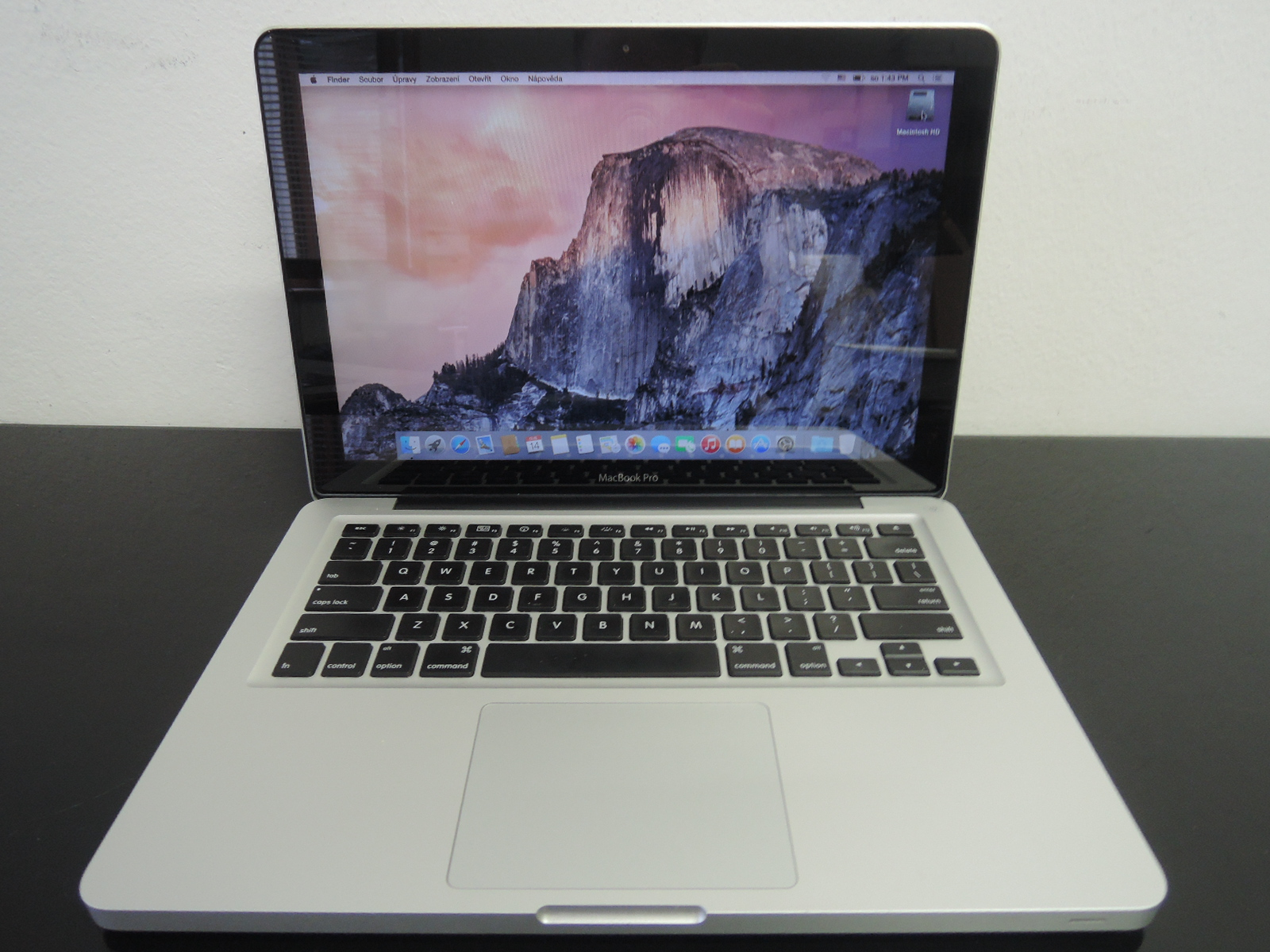 "MacBook PRO 13.3""CTO/i7 2.7 GHz/8GB RAM/256GB SSD"