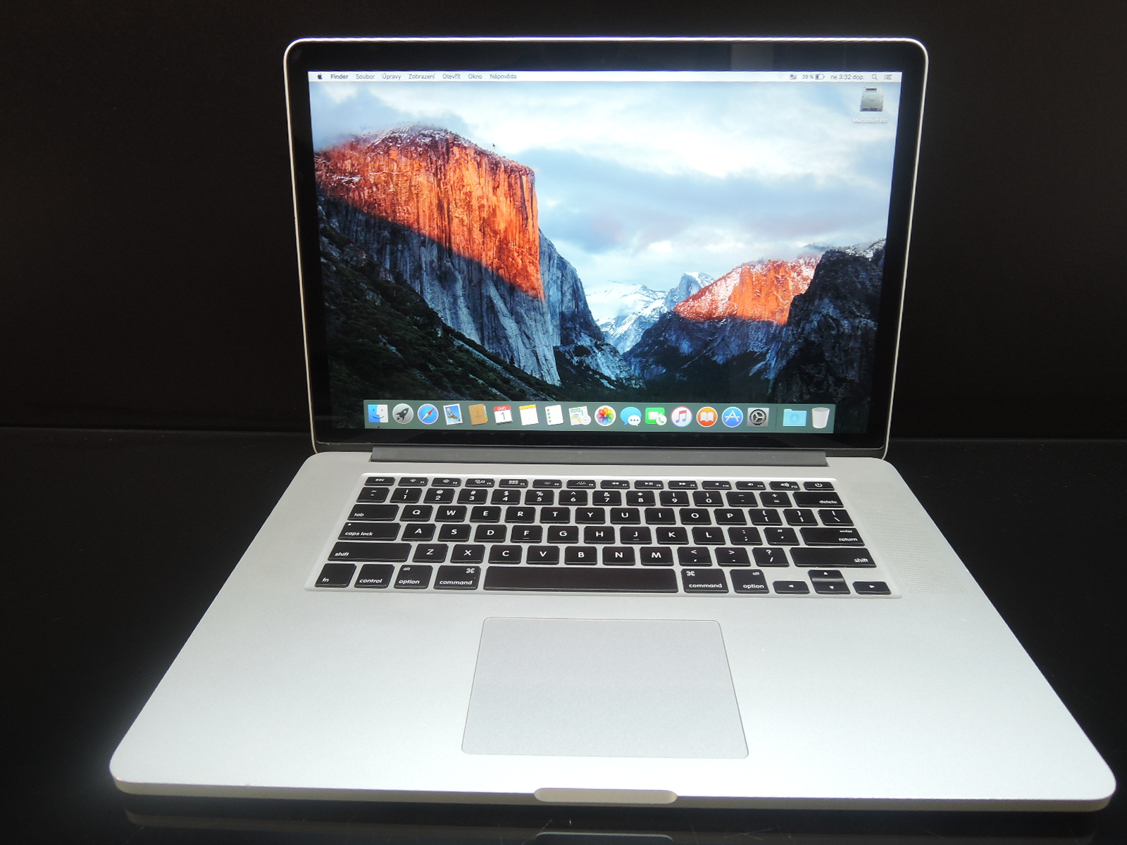 "MacBook PRO RETINA 15.4"" CTO/i7 2.7 GHz/16GB RAM/750GB SSD"