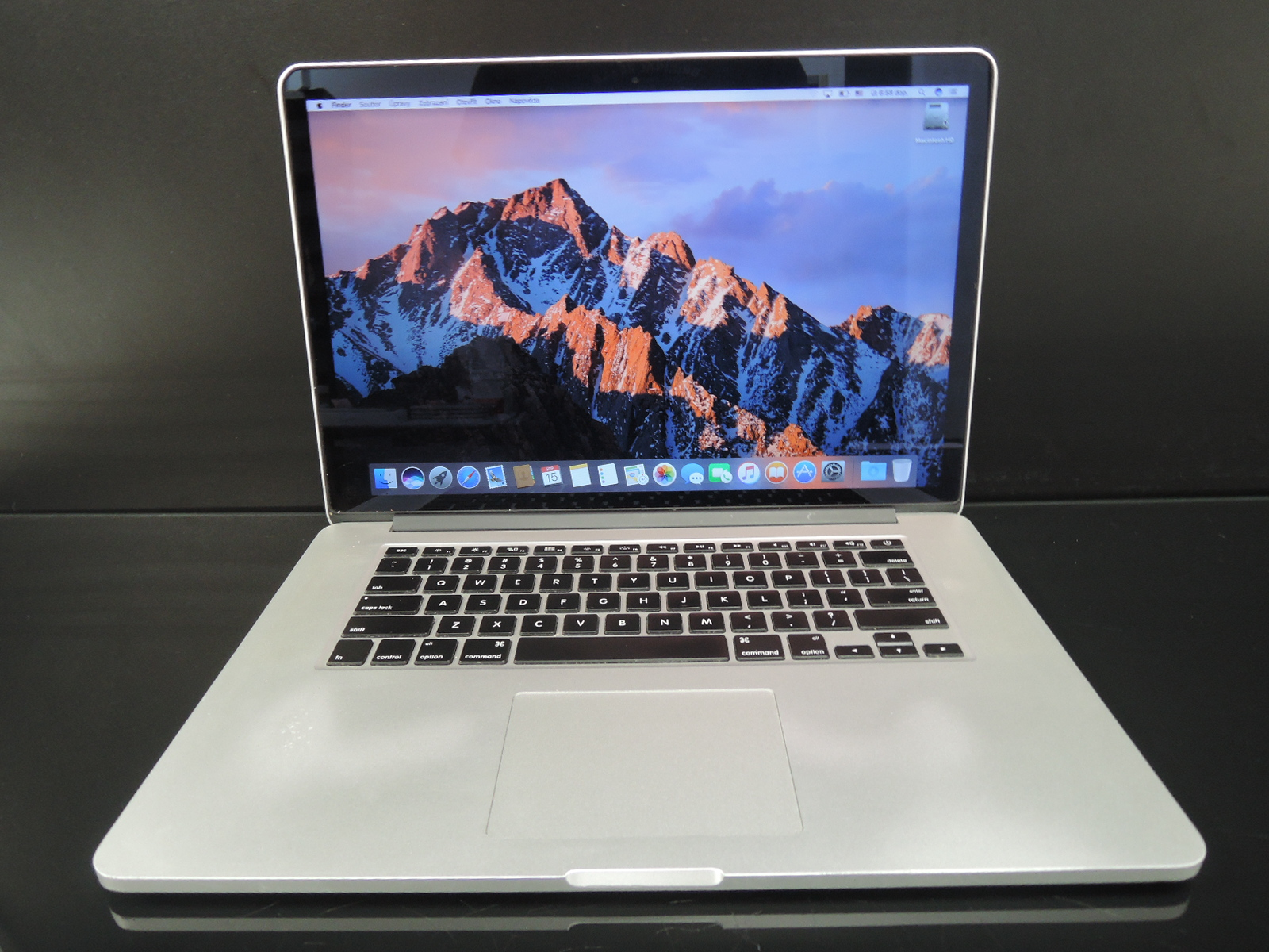 "MacBook PRO RETINA 15.4"" CTO/i7 2.7 GHz/16GB RAM/240GB SSD"