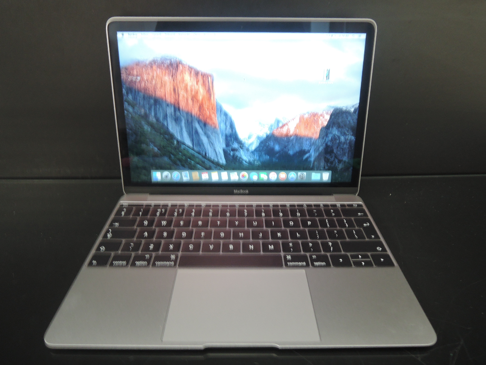 "MacBook RETINA 12""SpaceGray /1.1 GHz/8GB RAM/256GB SSD"