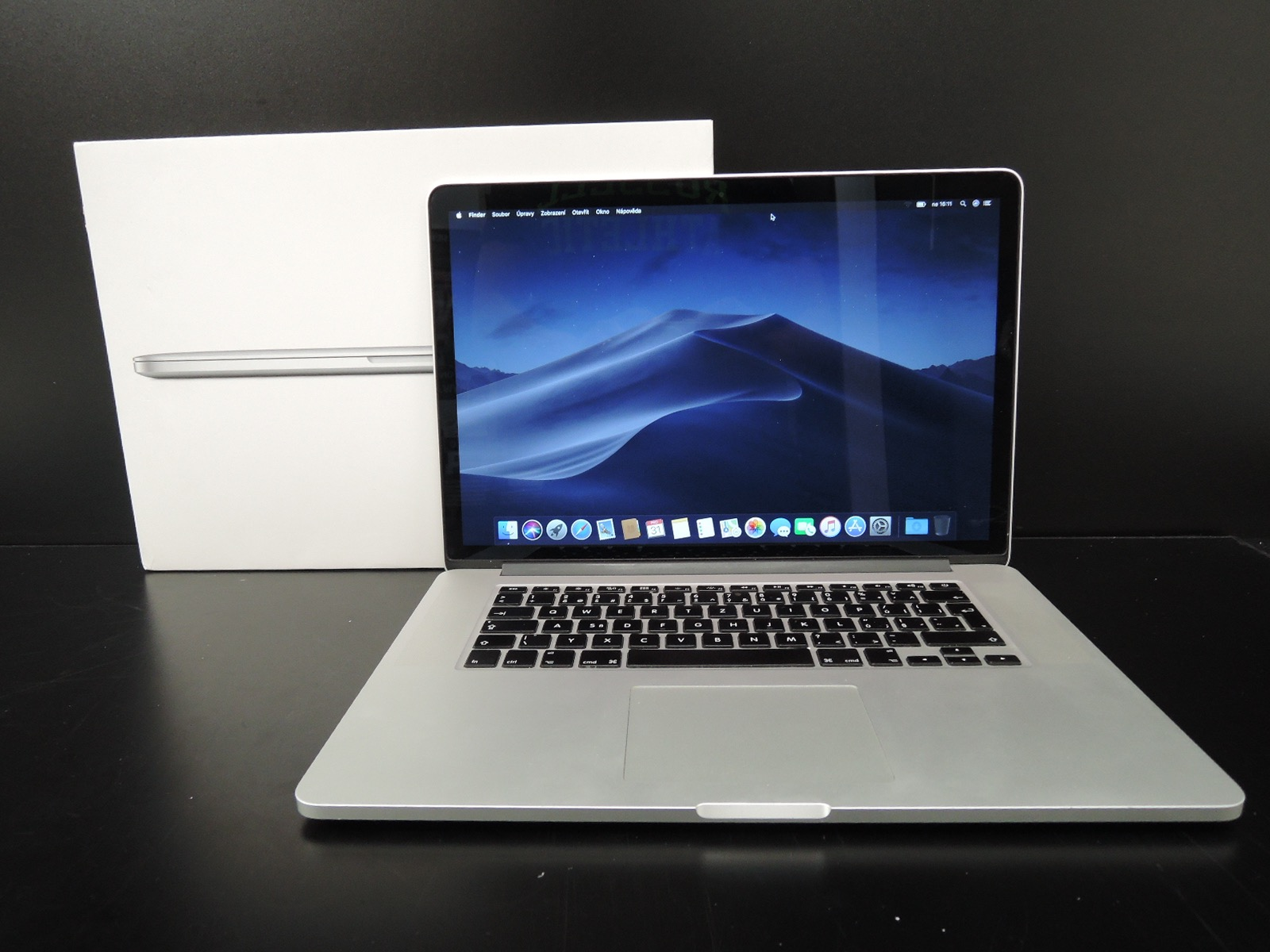 "MacBook PRO RETINA 15.4"" /i7 2.0 GHz/8GB RAM/256GB SSD"