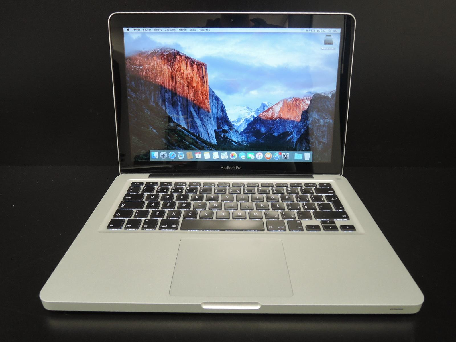"MacBook PRO 13.3""/i7 2.7 GHz/4GB RAM/500GB HDD"