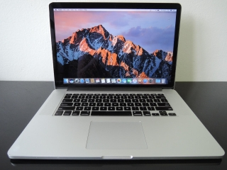 "MacBook PRO RETINA 15.4"" /i7 2.3 GHz/8GB RAM/128GB SSD"