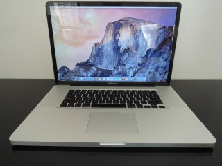 "MacBook PRO 17""/C2D 2.8GHz/4GB RAM/160GB HDD"