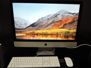 "APPLE iMAC SLIM 27""/i5 3.4GHz/32GB RAM/512GB SSD"