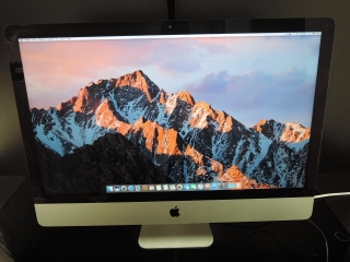 "APPLE iMAC SLIM 27""/i5 3.2GHz/16GB RAM/500GB SSD"