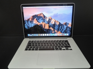 "MacBook PRO RETINA 15.4"" CTO/i7 2.7 GHz/16GB RAM/256GB SSD"