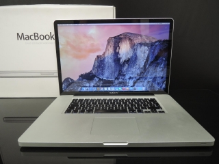 "MacBook PRO 17"" /i7 2.2 GHz/16GB RAM/256GB SSD"