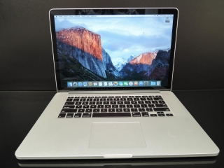 "MacBook PRO RETINA 15.4"" /i7 2.5 GHz/16GB RAM/256GB SSD"