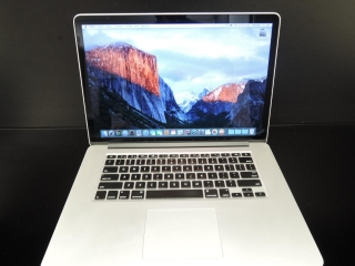 "MacBook PRO RETINA 15.4"" CTO/i7 2.6 GHz/8GB RAM/960GB SSD"