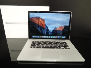 "MacBook PRO RETINA 15.4"" /i7 2.3 GHz/8GB RAM/960GB SSD"