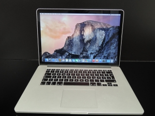 "MacBook PRO RETINA 15.4"" /i7 2.6 GHz/16GB RAM/512GB SSD"