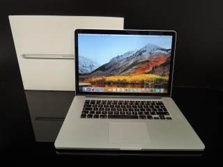 "MacBook PRO RETINA 15.4"" /i7 2.2 GHz/8GB RAM/256GB SSD"