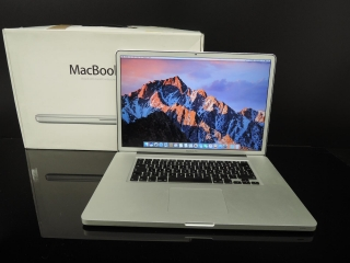 "MacBook PRO 17"" /i7 2.2 GHz/16GB RAM/120Gb SSD + 750GB HDD"
