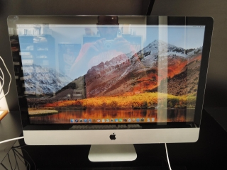 "APPLE iMAC 27"" CTO/i7 3.4GHz/8GB RAM/1TB HDD"