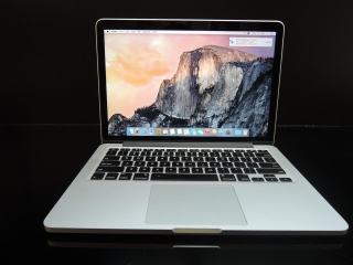 "MacBook PRO RETINA 13.3""/i5 2.4GHz/16GB RAM/256GB SSD"