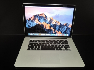 "MacBook PRO RETINA 15.4"" CTO/i7 2.6 GHz/8GB RAM/512GB SSD"