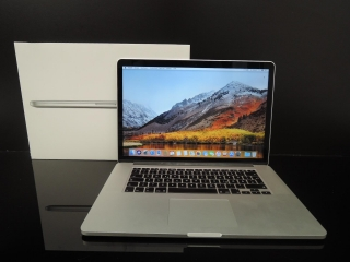"MacBook PRO RETINA 15.4"" CTO/i7 2.6 GHz/16GB RAM/128GB SSD"