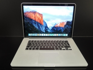 "MacBook PRO RETINA 15.4"" CTO/i7 2.6 GHz/16GB RAM/500GB SSD"