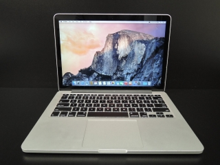 "MacBook PRO RETINA 13.3""/i5 2.7 GHz/16GB RAM/256GB SSD"